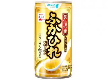 高級食材「気仙沼産ふかひれ」を使ったホット缶飲料「ふかひれスープ」が登場