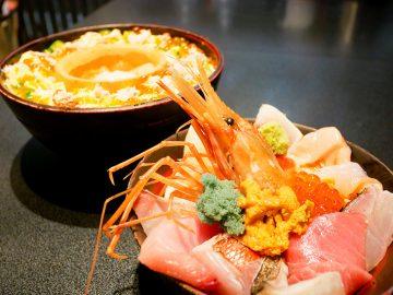 魚介の宝石箱! 『刺身Bar 河岸頭』で食べ応え抜群2段重ねの華やかすぎる海鮮丼を食べてきた