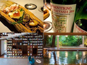 本も温泉も大充実! 箱根のブックホテル『箱根本箱』で、箱根ローカル・ガストロノミー×「サスィーノ」ワインの競演を堪能してきた