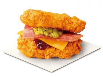 肉がバンズになった!? KFCから衝撃のサンドメニュー「THE・DOUBLE」が限定復活!