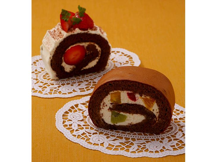 「フルーツチョコロール」360円/「苺チョコロール」400円