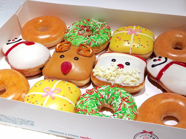 クリスマスシーズンの手土産は「クリスピー・クリーム・ドーナツ」の期間限定ドーナツでで決まり!
