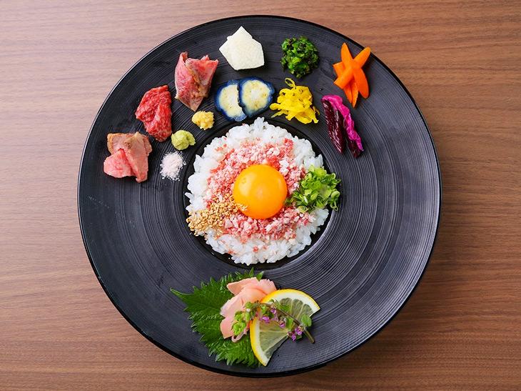 「牛鮮丼」1,980円(税別)
