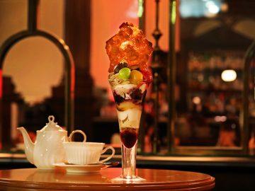 夜しか食べられない! 三菱一号館美術館『Cafe 1894』の「夜パフェ」とは?