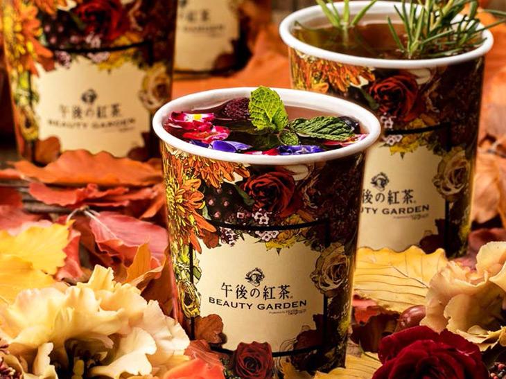10日間限定の「午後の紅茶」×「ニコライ・バーグマン」のフラワーティーとは?