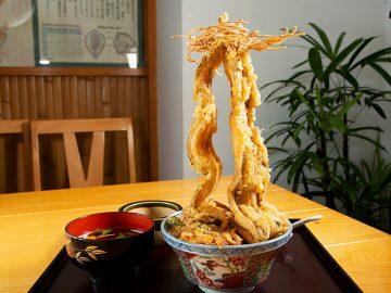 高さ34cm! 押上『そば遊膳 いちりきや』で超巨大タワーアナゴ丼を食べてみた