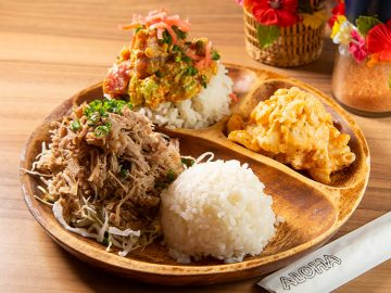 赤坂のテナントビルの一角に「リアルハワイ飯」を食べられる店『オゴ オノロア ハワイ』を発見!
