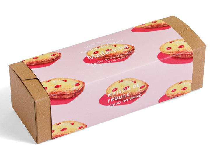 『苺のお店 メゾン・ド・フルージュ』の「苺のマドレーヌ」 756円 (3個入)