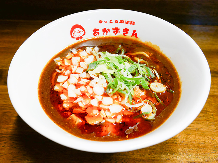 「辛っとろ麻婆麺」850円