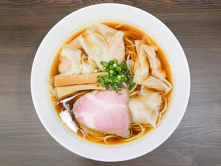 ラーメン官僚が絶讃する『中華そば さわ』(中板橋)の極上「ワンタン麺」とは?