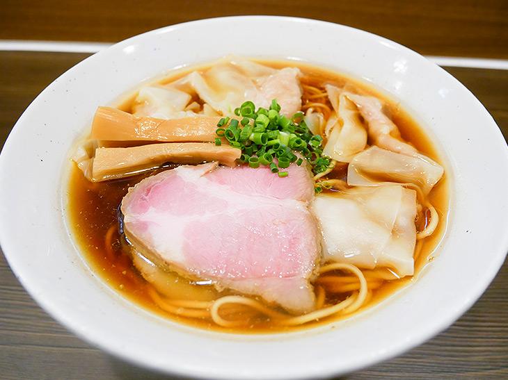 「ワンタン麺」850円