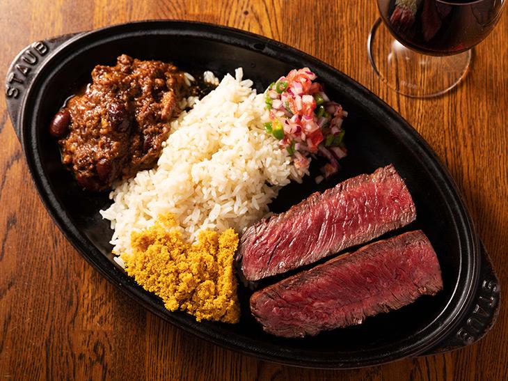 「USビーフ サガリのイパネマステーキ」3,500円