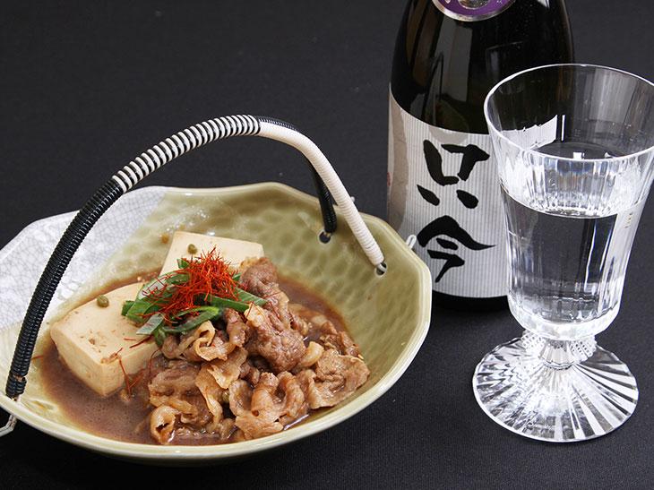 「肉豆腐」1,500円