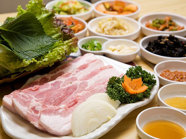「豚バラ肉」980円(税別)