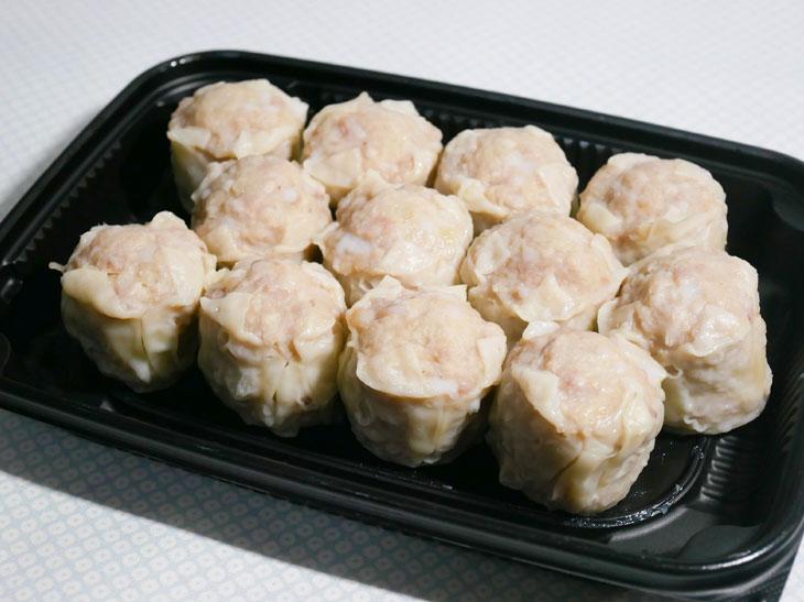 「国産豚のジューシー焼売(小)」599円