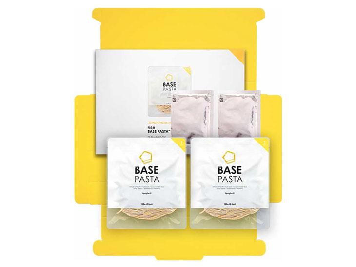 自宅でも食べられる「BASE RAMENおためしセット」980円はベースフード公式サイト( httpsbasefood.co.jp/lp/baseramen )より購入できます