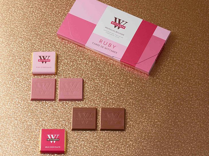 話題のピンク色の「ルビーチョコレート」が、ヴィタメールのバレンタイン限定ショコラになって登場!