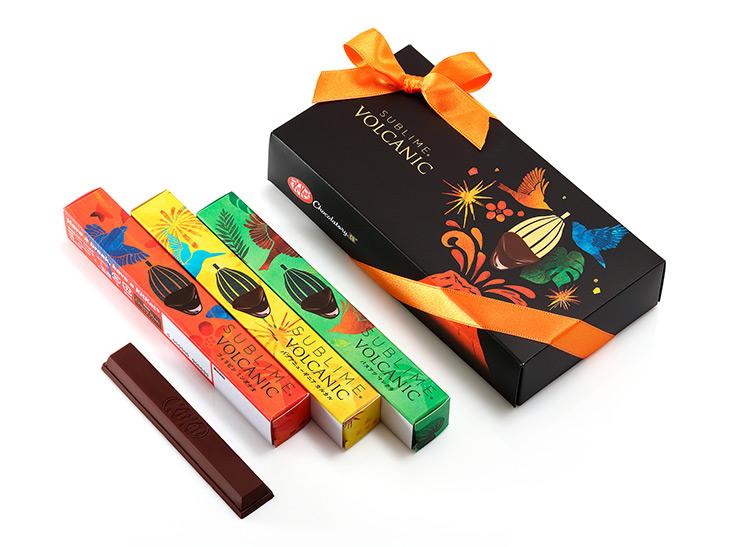 「キットカットショコラトリーサブリムボルカニック」1,404円(税込)