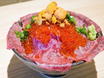 SNSで超話題! 吉祥寺の『肉ドレス海鮮丼 本店』の「ドレス肉海鮮丼」を食べてきた