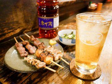 幻の酒「ホイス」とは? 恵比寿『やきとり田吾作』で飲んできた!