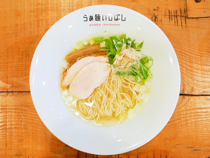 ラーメン官僚が絶賛! 阿佐ヶ谷『らぁ麺いしばし』の「塩らぁ麺」が美味い理由