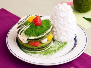 春にぴったり! 『エッグスンシングス』から「宇治抹茶のティラミスパンケーキ」が登場