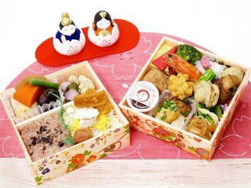 春を感じるちらし寿司が大集合! 大丸ほっぺタウンの人気「ひな祭り弁当」7選