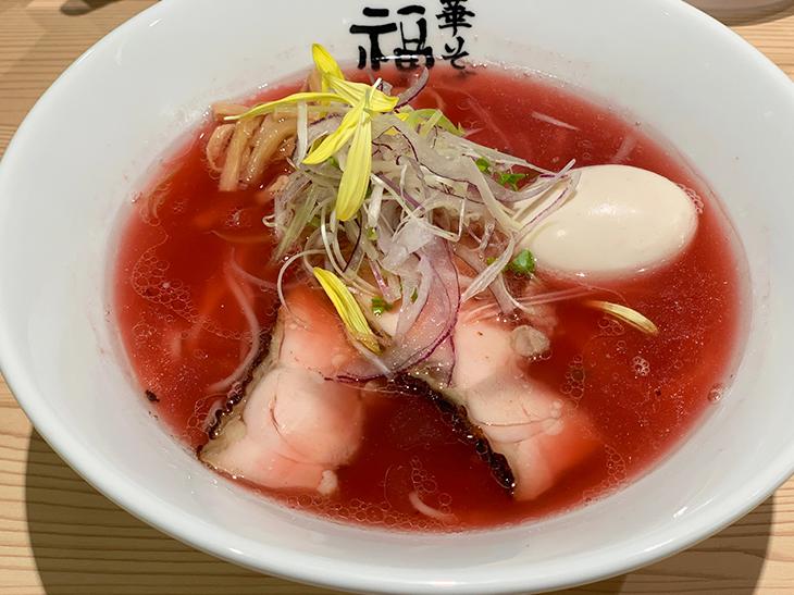 「紅の煮干しラーメン」1,000円
