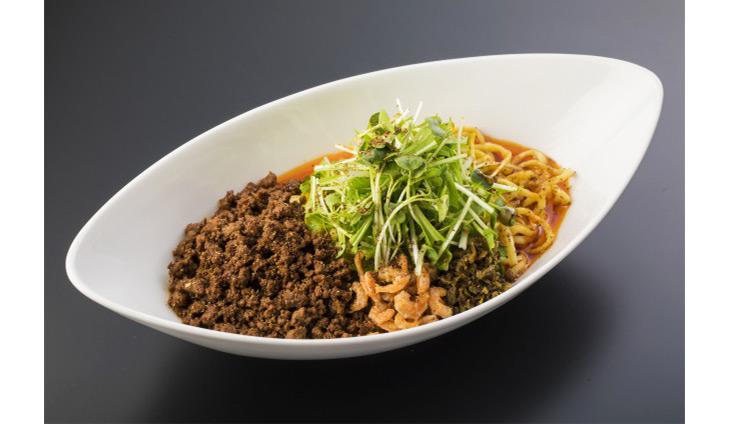 「つゆ無し担々麺」普通盛880円
