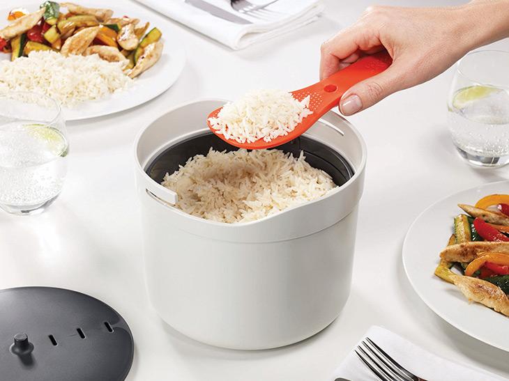レンジで23分! 「M-クイジーン 電子レンジライスクッカー」なら時短炊飯がラクラク!