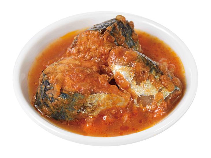 「お嬢サバのトマト煮」