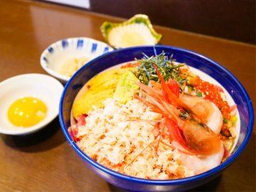 1杯で3度美味しい海鮮丼「海宝丼」とは? 三軒茶屋『海街丼』で食べてきた