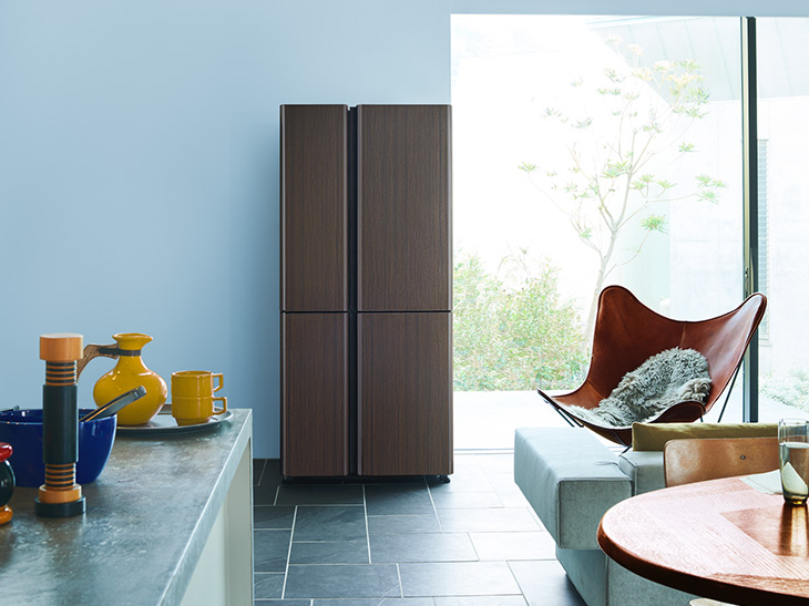 キッチンとダイニングは「シームレス」が断然おしゃれ! インテリアとしも優秀な冷蔵庫『AQUA』を選ぶべき理由とは?