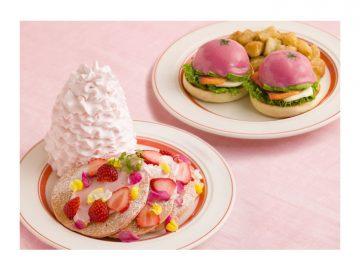 可愛すぎる! 『Eggs 'n Things』からパンケーキとエッグベネディクトの春限定メニューが登場