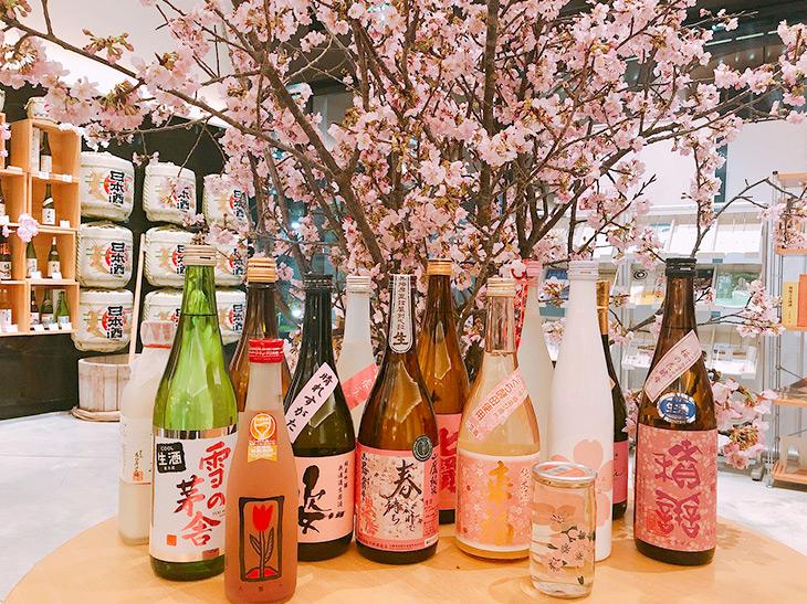 """今年のトレンドは""""インドア花見""""!「日本の酒情報館」で花見にイチオシの日本酒を聞いてきた"""
