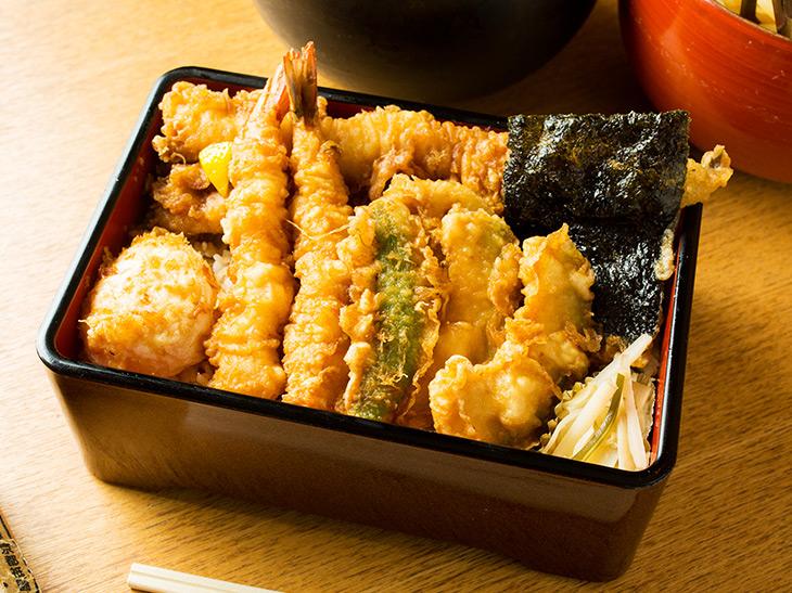 「天丼(松)」は1,680円