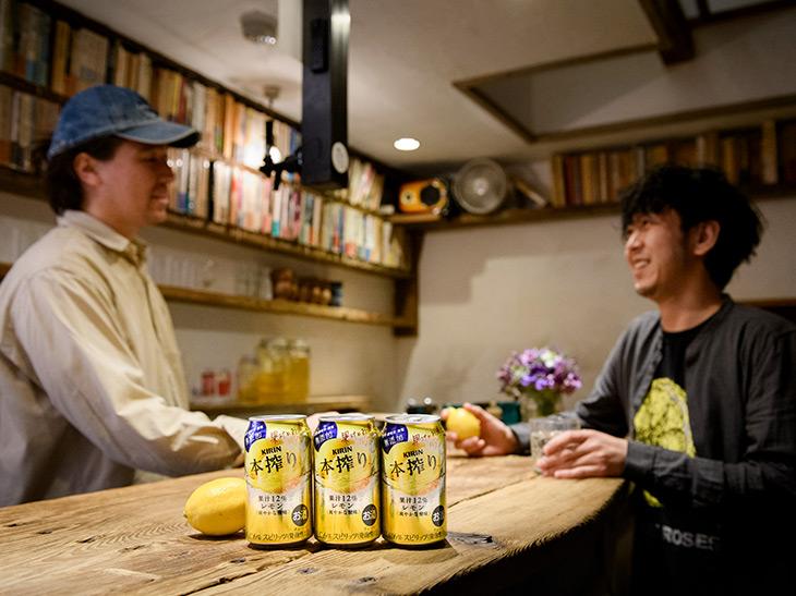 レモンサワーの達人、田中開×レモンザムライが語る! 「本当に旨い」缶チューハイの条件とは?