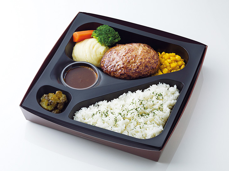 黒毛和牛ハンバーグ弁当1,780円