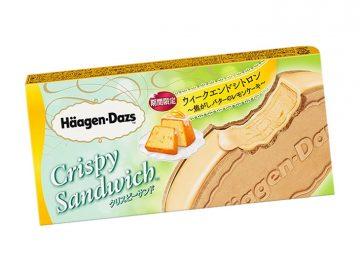 焦がしバターとレモンが香る! ハーゲンダッツ「焦がしバターのレモンケーキ」が登場