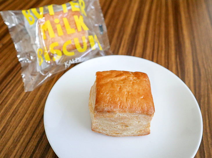 カルディの「バターミルクビスケット(BUTER MILK BISCUIT)」216円