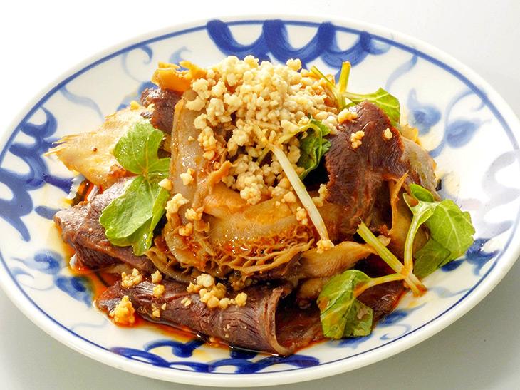 『陳麻婆豆腐』の「夫妻肺片」