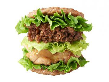 平成最後のニクの日! モスバーガーの「にくにくにくバーガー」が1日限定で販売