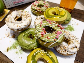 「クリスピー・クリーム・ドーナツ」から最新トレンドを味わえる「和茶ドーナツ」が登場!