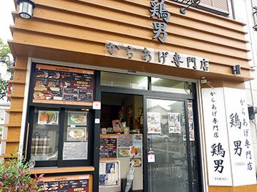 鶏男・参道店 外観