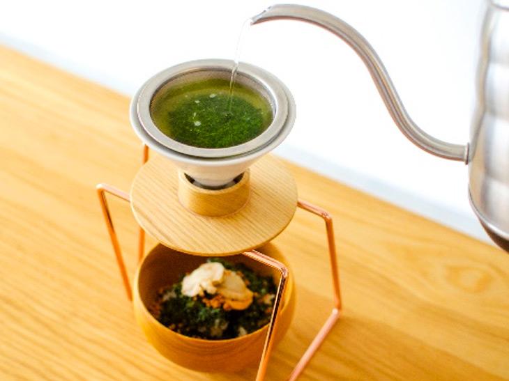 ハンドドリップ日本茶を追加すると、風味がさらに増します