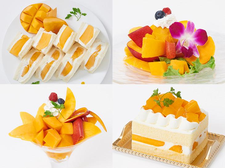 デパ地下&デパカフェで食べ比べ! 大丸東京店の最旬マンゴースイーツ8選