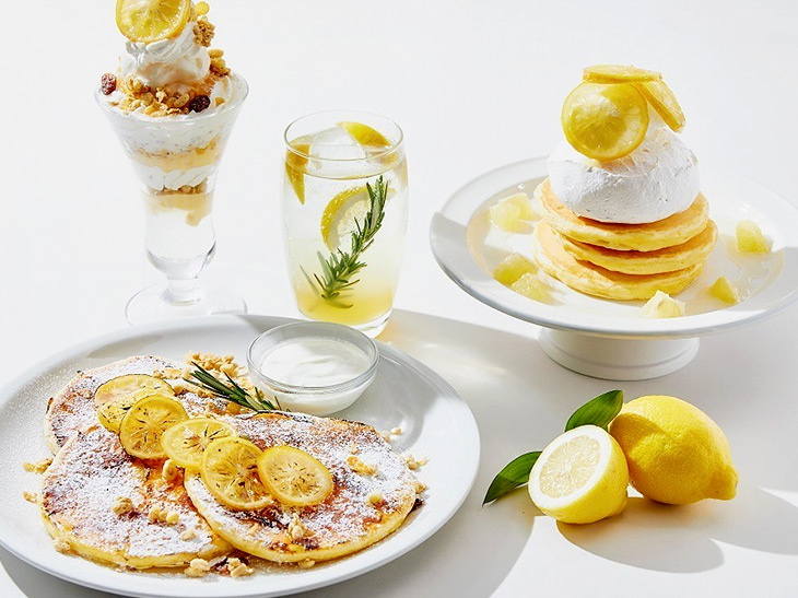 期間限定! 瀬戸内レモンのさっぱりパンケーキが『J.S. パンケーキ カフェ』に登場