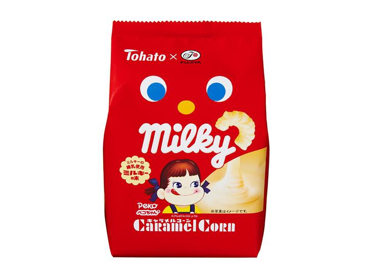 「キャラメルコーン・ミルキー味」122円