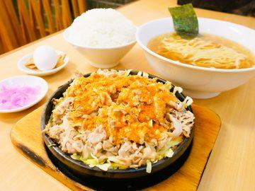 東中野のソウルフード!『大盛軒』の「ビッグ鉄板麺」とは?
