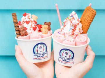 6月1日はロールアイスの日! 『ロールアイスクリームファクトリー』全メニューが500円で味わえる!